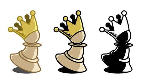 pawn to king: Pawn King