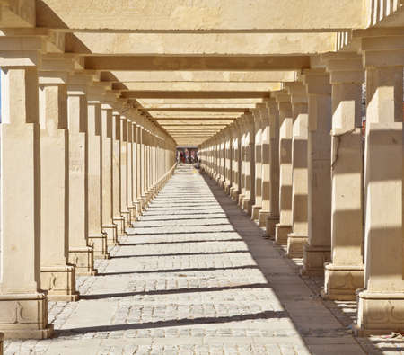 shree: Concept shot taken on the public pathway leading upto the Shree Dwarakadheesh Krishna Temple a religious place and pilgrimage for hindus  The horizontal abstract was taken at Dwarka, Gujarat, India