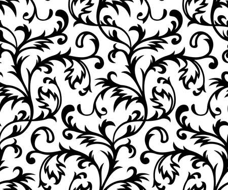 intricacy: Vector. Seamless Classicism Wallpaper
