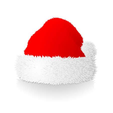 Christmas cap Vector