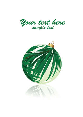 Green holiday Vector