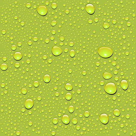 Vector. Seamless water drop texture Vector