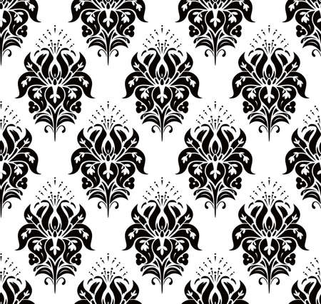 classicism: Seamless Classic Wallpaper Illustration