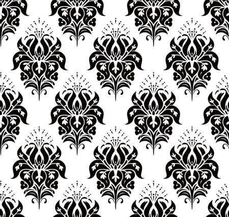 Seamless Classic Wallpaper Vector