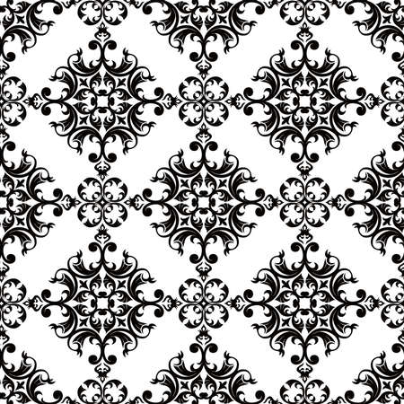 antique wallpaper: Seamless Classic Wallpaper Illustration