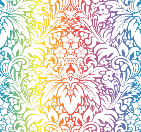flores vintage: Seamless pattern