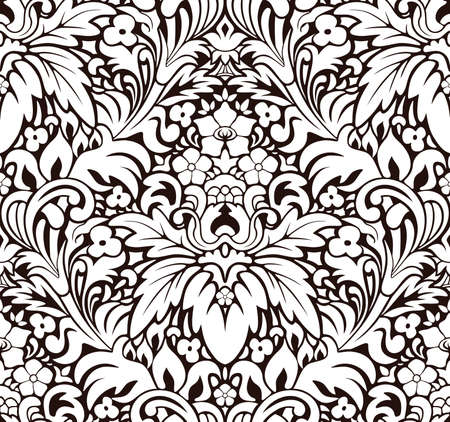 classicism: Vector. Seamless pattern