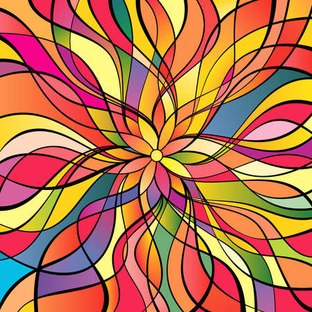 Multicolor abstract background Stock Vector - 5408206