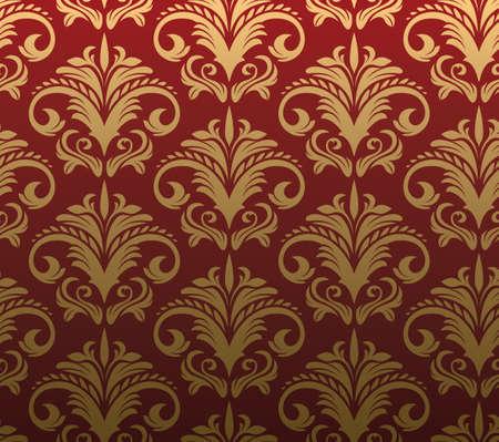 Seamless Wallpaper  Stock Vector - 5865730