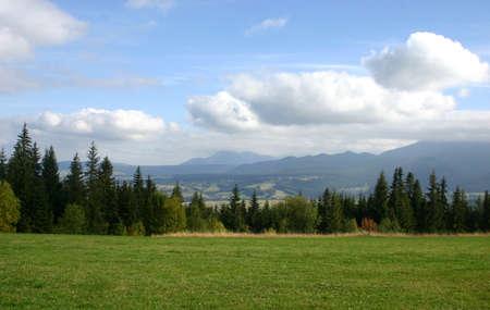 In polish mountains  Stock Photo