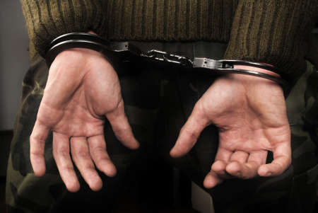 Handcuffs Stock Photo - 14890213