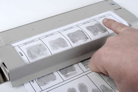 Fingerprint card photo