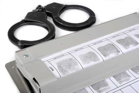 Fingerprint card Stock Photo - 14890200