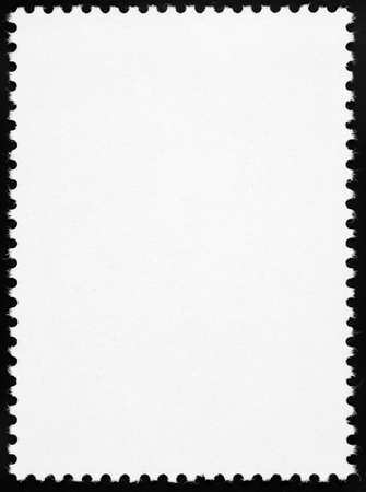 Blank postage stamp photo