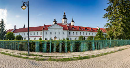 SUPRASL, POLAND - July 29,2019: Monastery of the Male Annunciation to the Virgin Mary.