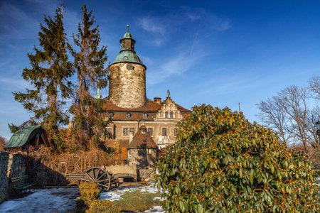 CZOCHA, POLAND, FEBRUARY 22, 2012: Medieval castle built in XII century.