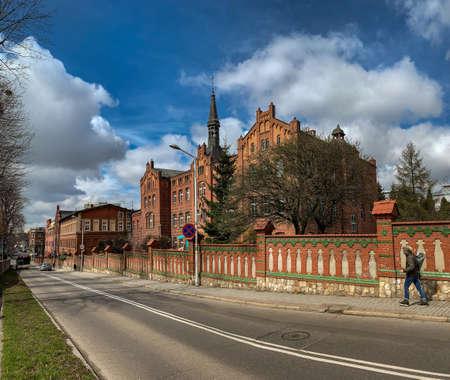 KATOWICE, POLAND - 06 APRIL, 2021: Congregation of the Sisters of Saint Jadwiga.