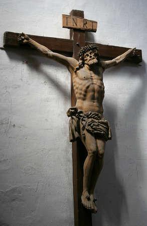 jezus:  Jezus cross  Stock Photo