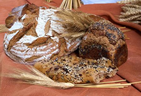 utensilios de cocina: fresh bread