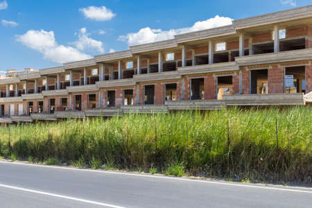 costruction: Costruction site Stock Photo