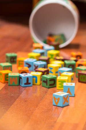 alphabet blocks: Alphabet blocks