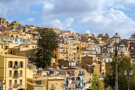 agrigento: Agrigento old town Stock Photo