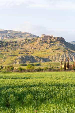 Temple of Juno, Agrigento Imagens - 39161028