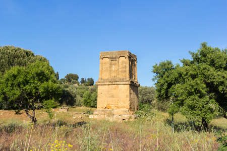 Tomb of Theron Theron Valley of Temples Agrigento