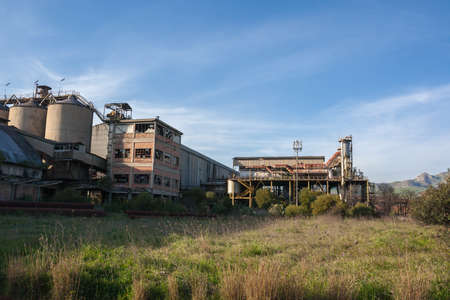 Abandoned industry in Sicily
