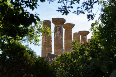 valley of the temples: Temple of Hercules Agrigento Valley of Temples