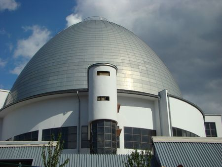 dome of a building of the Moscow planetarium