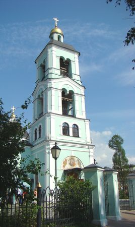 reserve: Museum reserve Tsaritsino a belltower of Church of the Icon of Divine Mother Zhivonosnyj the Source