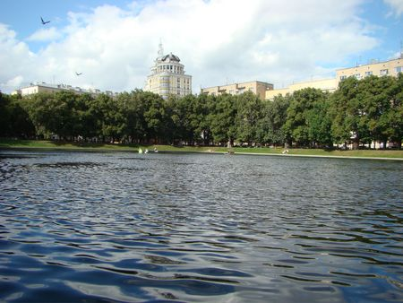 patriarchal: Kind on the Patriarchal ponds and on the  the Patriarch in Moscow