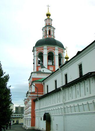 serf: Nadvratnaja �glise pour des raisons de Saint Simeona Stolpnika et d'une partie d'une fortification de Spaso du monast�re Danilovsky