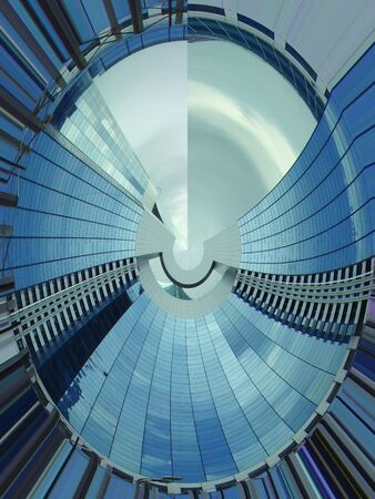 Fantstichesky architecture of the fast future