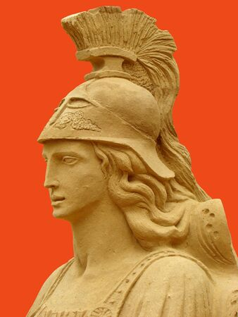 Athena, in Ancient Greek mythology — the goddess of fair war and the wisdom, one of the most esteemed goddesses of the Ancient Greece.