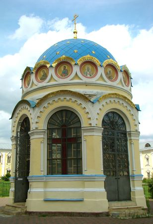 enters: Chapel of prelate Nikolay on a place of the phenomenon of its Fair Image. Enters into an architectural ensemble of Nikolo of the Ugreshsky monastery. The city of Dzerzhinsk of Moscow Region.