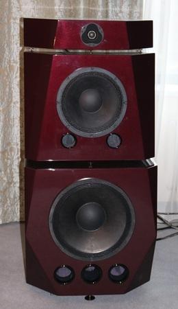 reflex: Active Speaker System Bass Reflex block, block sound system