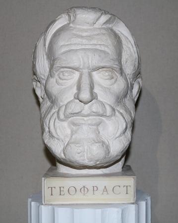 plato: Theophrastus - the Greek philosopher, scientist, music theorist