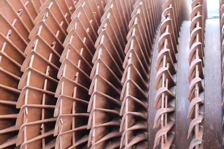shaft: turbine plant. High strength steel element shaft power