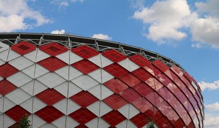 spartak: The opening of the Arena - the stadium, the stadium of football club Spartak