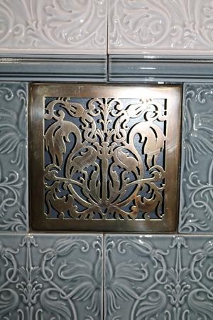 patterned ceramic glazed tiles