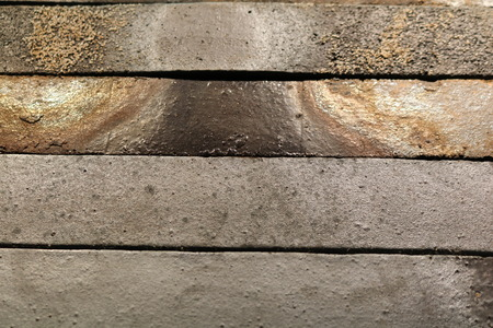 The texture of stone brick wall Stock Photo