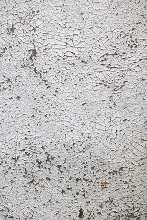Texture of an old painted in white orglite