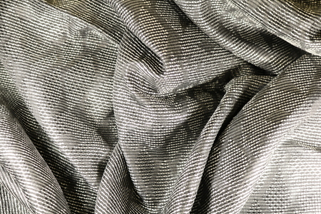 Brocade - a silk fabric with a pattern made of metal threads