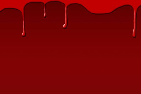 violent: Blood on dark red background