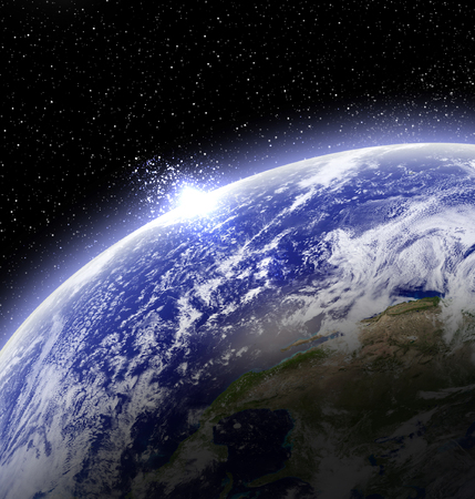 earthlike: Sun rise on planet earth