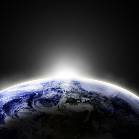 Earth as seen from space Stock Photo - 1726614