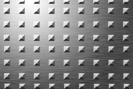 Placca di metallo con luce riflessa Archivio Fotografico - 1727008