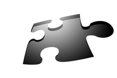 Missing puzzle piece Stock Photo - 1726542